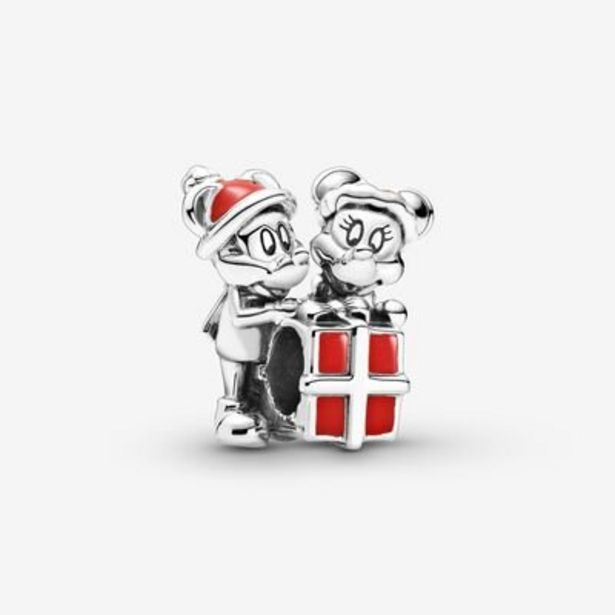 Offerta per Disney, charm Mickey Mouse e Minnie con pacchetto regalo a 47€