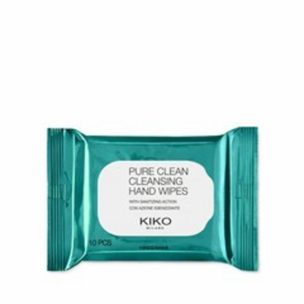 Offerta per Pure clean cleansing hand wipes a 2,09€