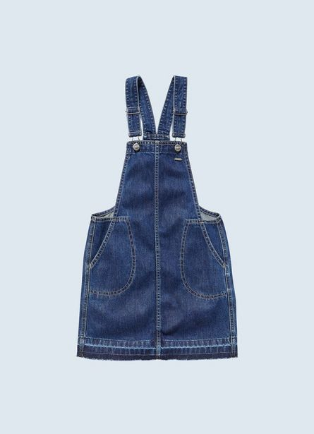 Offerta per VESTITO SCAMICIATO IN DENIM PITCH DRESS a 59,9€
