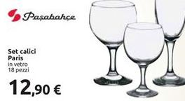 Offerta per Set calici paris a 12,9€