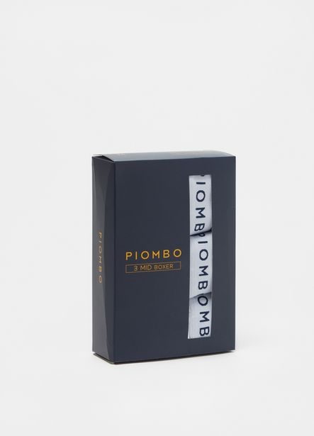 Offerta per PIOMBO Tripack boxer midi in jersey image number null a 19,95€