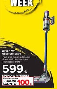 Offerta per Dyson V11 Absolute Extra a 599€