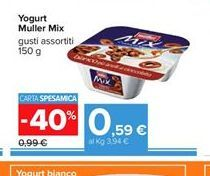 Offerta per Yogurt Muller mix 150gr a 0,59€