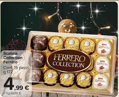 Offerta per Scatola collection Ferrero a 4,99€