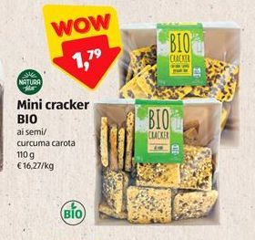 Offerta per Mini crackers bio a 1,79€