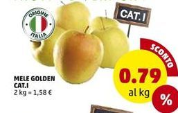 Offerta per Mele golden CAT.I a