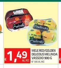 Offerta per Mele red/golden delicious Melinda a 1,49€