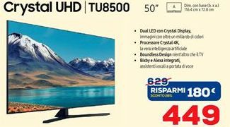 Offerta per Smart tv led 50'' Samsung a 449€