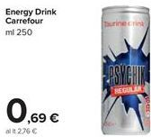 Offerta per Energy drink carrefour a 0,69€