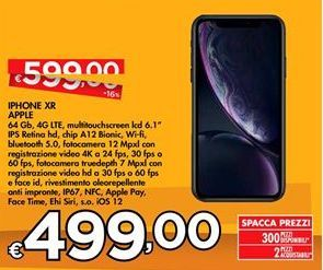 Offerta per IPhone XR Apple a 499€