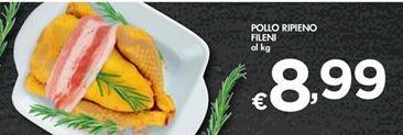Offerta per Pollo ripieno Fileni a 8,99€