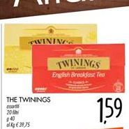 Offerta per THE TWININGS a 1,59€