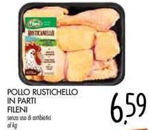 Offerta per PÒLLO RUSTICHELLO IN PARTI FILENI  a 6,59€