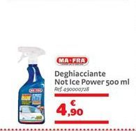 Offerta per Deghiacciante not ice power 500 ml a 4,9€