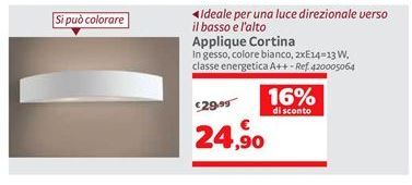 Offerta per Applique cortina a 24,9€