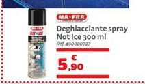 Offerta per Deghiacciante spray not ice 300 ml a 5,9€