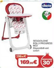 Offerta per Seggiolone rolly progress red a 169,9€