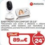 Offerta per Baby monitor comfort a 89,99€
