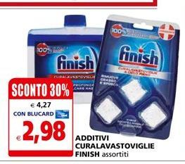Offerta per Additivi Curalavastoviglie Finish a 2,98€