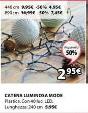 Offerta per Catena luminosa a 2,95€