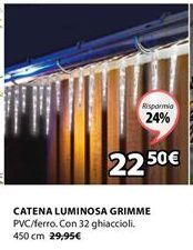 Offerta per Catena luminosa a 22,5€