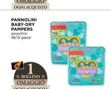 Offerta per Pannolini baby dry Pampers a