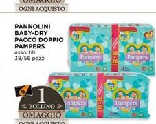 Offerta per Pannolini baby dry pacco doppio Pampers a