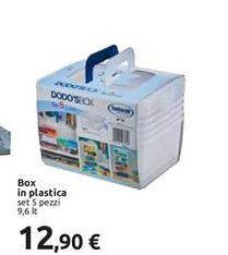 Offerta per Box in plastica a 12,9€