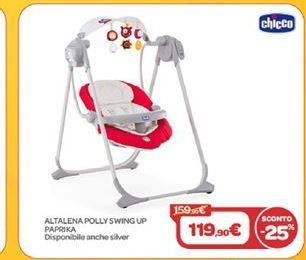 Offerta per Altalena polly swing up paprika a 119,9€