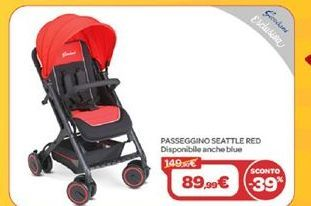 Offerta per Passeggino seattle red a 89,99€