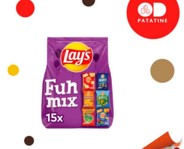 Offerta per Patatine Lay's Multipack Funny Mix a 6,9€