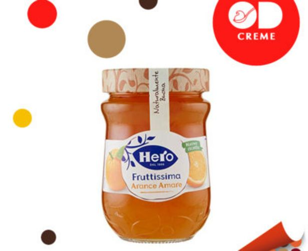 Offerta per Confettura Light All'Arancia Amara Hero a 2,49€