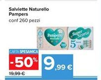 Offerta per Salviette naturello Pampers a 9,99€