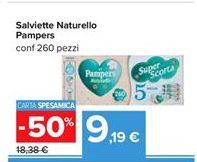 Offerta per Salviette naturello Pampers a 9,19€