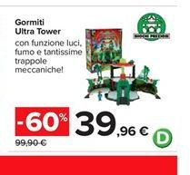 Offerta per Gormiti Ultra Tower a 39,96€