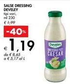 Offerta per SALSE DRESSING DEVELEY a 1,19€