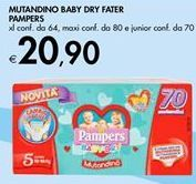 Offerta per MUTANDINO BABY DRY FATER PAMPERS a 20,9€