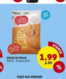 Offerta per Sticks di pollo a 1,99€