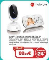 "Offerta per Baby monitor comfort 35 2,8"" a 89,99€"