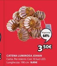 Offerta per Catena luminosa a 3,5€