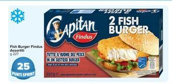 Offerta per Fish burger Findus assortiti a