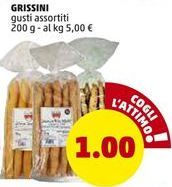 Offerta per GRISSINI gusti assortiti a 1€
