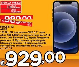 Offerta per IPhone 12 Apple a 929€