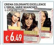 Offerta per Crema colorante exellence L'Oreal varie nuanches a 6,49€