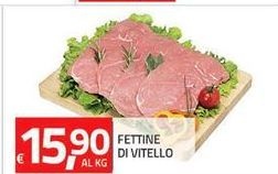 Offerta per Fettine di vitello a 15,9€