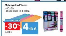 Offerta per Materassino fitness 180x60 disponibile in 4 colori a 4,13€