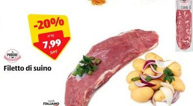 Offerta per Filetto di suino a 7,99€