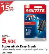 Offerta per Colla stick Attak a 5,9€
