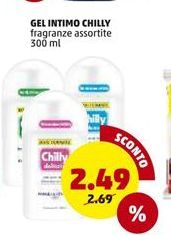 Offerta per Gel intimo chilly a 2,49€