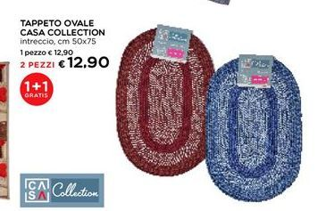 Offerta per Tappeto ovale Casa Collection a 12,9€